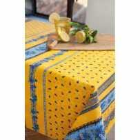 Nappe rectangulaire en coton, imprimé Tradition