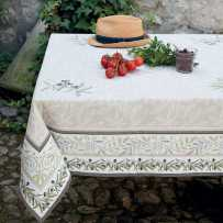 Rectangular table mat Auriol in scene