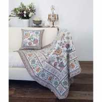 Rectangular blanket Garance scene