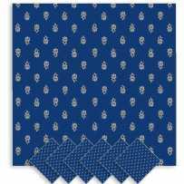 Napkin set printed Avignon by Marat d'Avignon blue