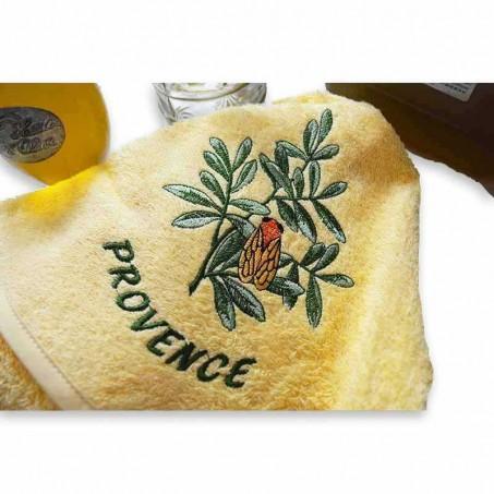 Decorative towels terry cotton, decor Cigale