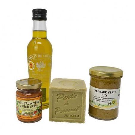 Box terroir autour de l'olive