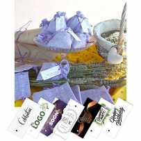 Personalized lavender sachet