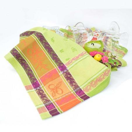 Serviettes de table en tissu Jacquard