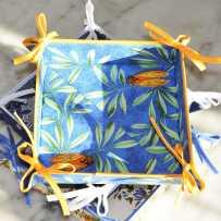 Vide poches en tissu, imprimé provençal Cigale