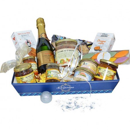 Luxury Provencal food hamper for two