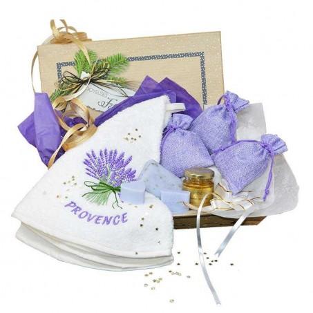 Aix en Provence lavender box