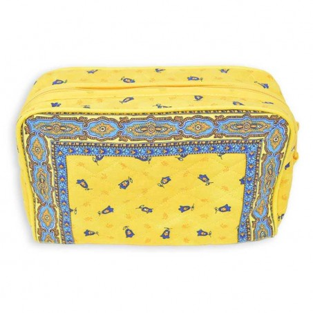 indian fabric toiletry bag