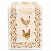 Table runner Chanteclair