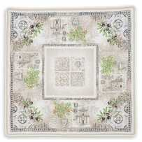 Square table mat, Jacquard Riviera