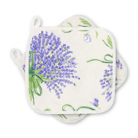 Bouquet de lavande pot holders