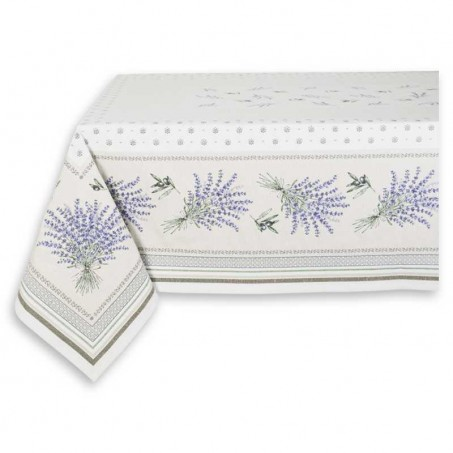 nappe rectangulaire jacquard