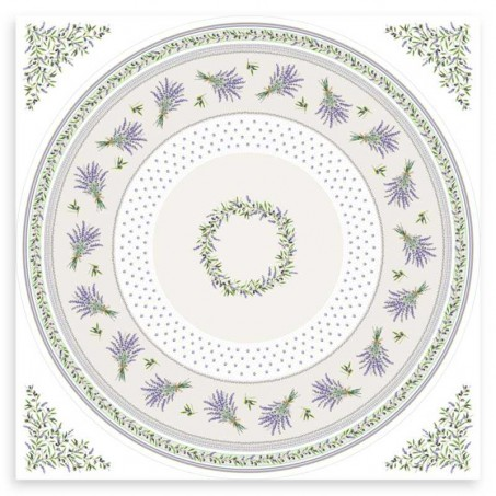 patterned round tablecloth for 48 round table