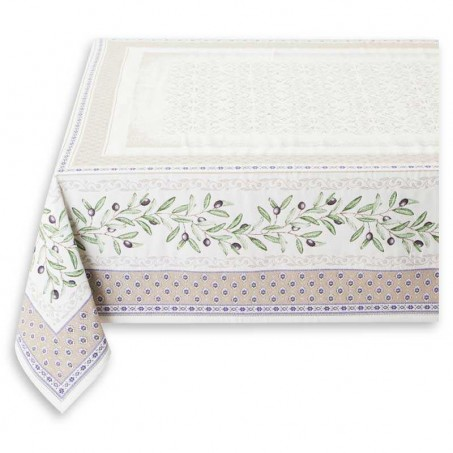 Nappe pour table de salon jacquard Luberon
