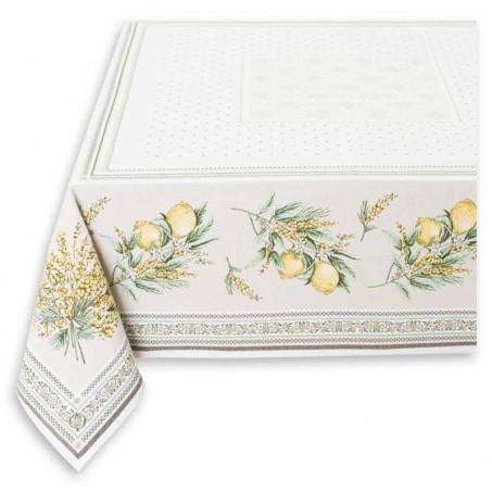 nappe rectangulaire en tissu, textile de maison, idée déco salon