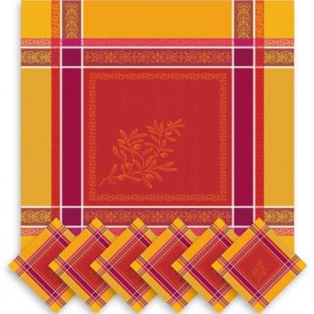serviette de table design