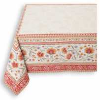 nappe rectangulaire 260 cm pour table de salon
