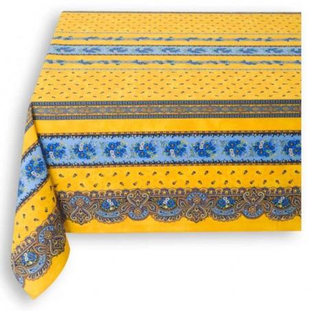 Provence tablecloth, rectangular, Tradition by Marat d'Avignon yellow