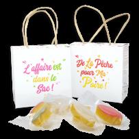 mini calisson fruite d'Aix en Provence en boite ecologique