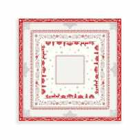 Dining table center mat for Christmas