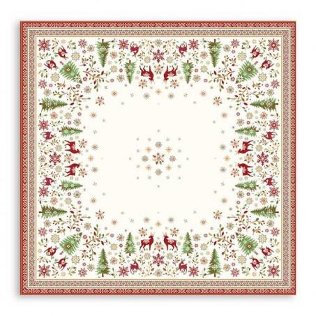 pretty table mats for christmas