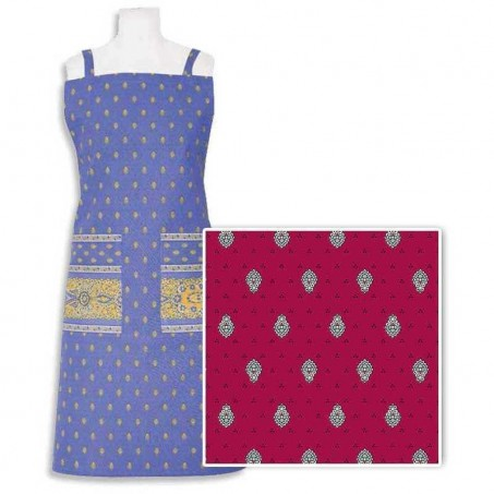 Aprons with pockets in red