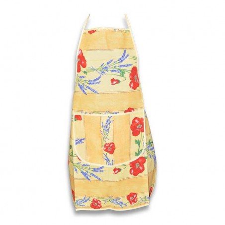 fancy aprons poppies yellow