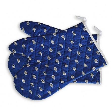 Blue oven gloves Avignon, Marat d'Avignon