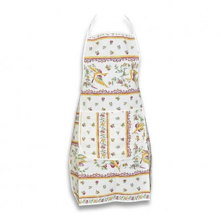 print apron for kitchen use in red