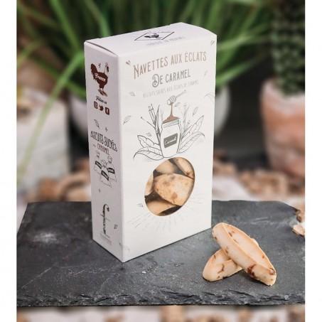 Navettes de Marseille veritables au caramel beurre sale