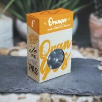 Oranges confites Bio enrobées de chocolat noir 74%