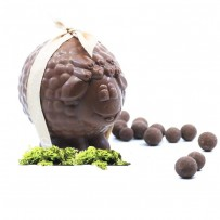 Gourmet Easter chocolate sheep - organic milk chocolate