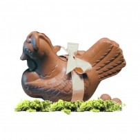 Easter chocolate chicken for kids