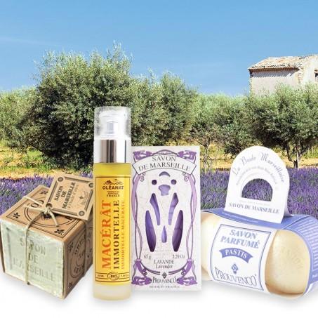 Produit naturel pour la peau du visage et du corps