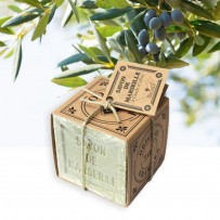 authentic Marseille soap for sensitive skin with olive oil