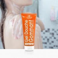 exfoliating shower gel