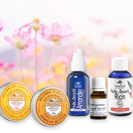Provencal beauty therapy treatments for sensitive skin