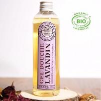 organic shower gel lavender