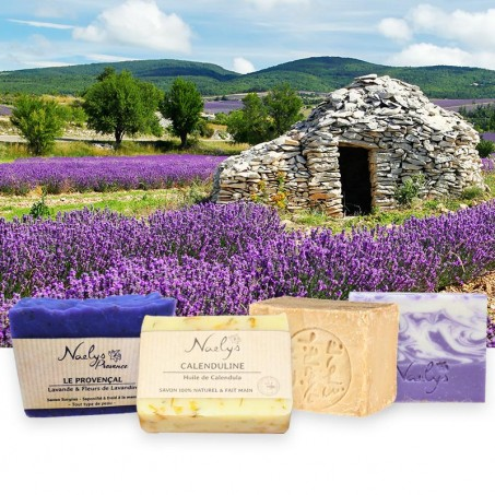 Most pure and natural soaps kit