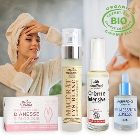 Skin treatment for face and beauty products organic skin care