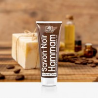 organic black soap exfoliating