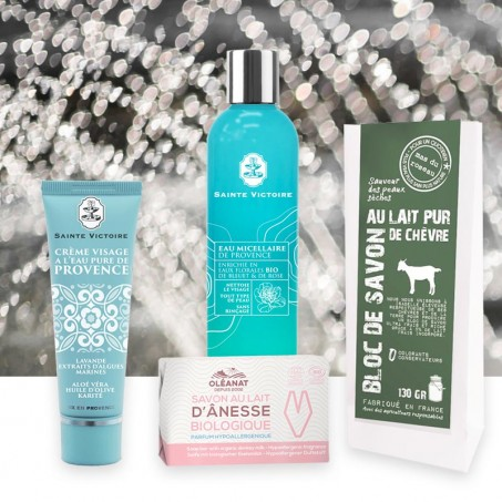 Best moisturizer for dehydrated skin - Facial care set