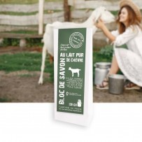 soap with pure goat milk for sentive skin