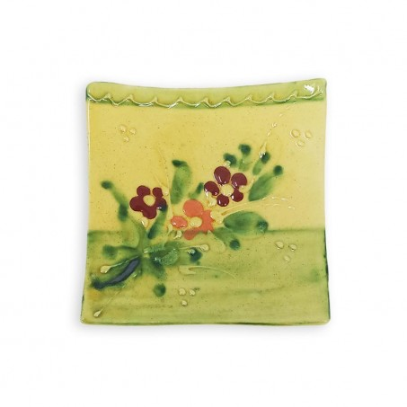 colorful ceramic dinner plates