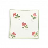 floral plate set