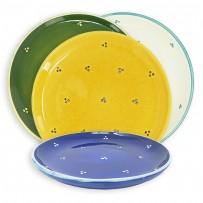 Dessert table plates