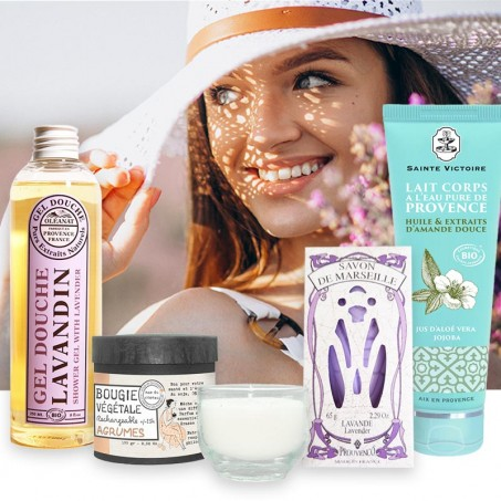 Best body products - Natural skin care gift set