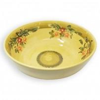 large decorative fruit bowl