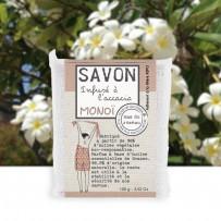 handmade soap scent monoï