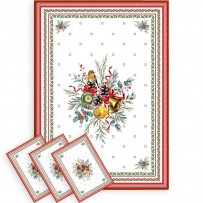 pack of holiday tea towels